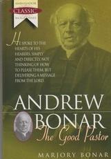 Andrew Bonar - The Good Pastor