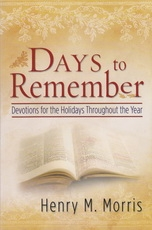 Days to Remember - Devotions for the Holidays Throughout the Year