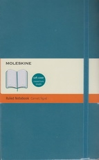 Moleskine Ruled Notebook - turquoise