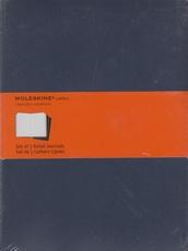 Moleskine Set of 3 Ruled Journals