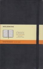Moleskine Ruled Notebook - black hardcover