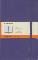 Moleskine Ruled Notebook (purple)
