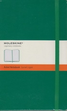 Moleskine Ruled Notebook - green