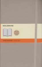 Moleskine Ruled Notebook (tan)