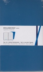 Moleskine Notebook - set of 2 ruled notebooks