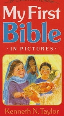 My First Bible in Pictures (red)