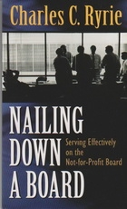 Nailing Down a Board - Serving Effectively on the Not-for-Profit Board