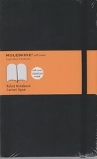 Moleskine Ruled Notebook - black softcover