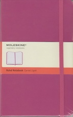 Moleskine Ruled Notebook - pink