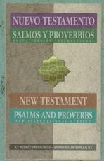 Nuevo Testamento, Salmos Y Proverbios - NVI-NIV Parallel
