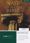 NASB - Thinline Bible (black, bonded leather)