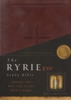 Ryrie Study Bible - ESV  (burgundy, soft touch, red letter)