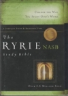 Ryrie Study Bible - NAS (burgundy, red letter, indexed)
