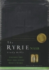 Ryrie Study Bible - NAS (red letter, black, soft touch)