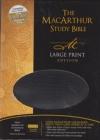 MacArthur Study Bible - NAS - large print (black bonded leather)