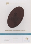 Personal Reference Bible - ESV (Trutone, deep brown/tan, trail design)