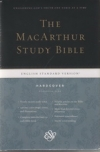 MacArthur Study Bible - ESV (hardcover, personal size)