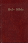 Holy Bible - NAS - Pew Bible (hardcover, red)