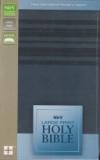 Holy Bible - NIrV (large print, slate blue)