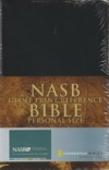 Giant Print Reference Bible - Personal - NAS