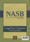 Large Print Ultrathin Reference Bible - NAS