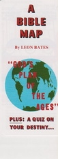 """A Bible Map """"God's Plan of the Ages"""""""