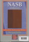 NASB - Ultrathin Bible (two-tone brown, Leathertex)