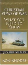 Shristian Views of War What You Need To Know Quick Reference Guide