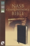 Classic Reference Bible - NAS (black, top grain)