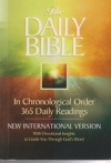 Daily Bible - NIV - In Chronological Order - 365 Daily Readings