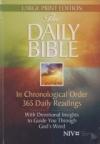 The Daily Bible - NIV - giant print