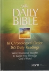 The Daily Bible - NIV (hardcover)