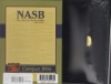 Compact Bible - NAS (black, bonded leather, snap flap)