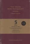 The Greek New Testament - Text of UBS 5