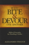 If You Bite & Devour One Another, Galations 5:15 - Biblical Principles for Handl