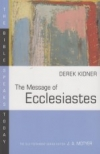 The Message of Ecclesiastes - The Bible Speaks Today