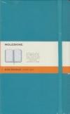 Moleskine Ruled Notebook (blue reef color)