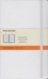 Moleskine Ruled Notebook - white