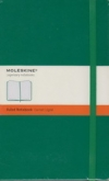 Moleskine Ruled Notebook - green