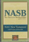 NASB - New Testament with Psalms & Proverbs (black, bonded leather)