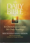 New International Version - The Daily Bible - In Chronological Order