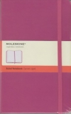 Moleskine Ruled Notebook - pink