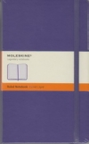Moleskine Ruled Notebook - purple