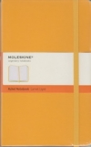 Moleskine Ruled Notebook - yellow