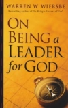 On Being a Leader of God