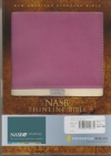 Thinline Bible - NAS (Italian duo-tone, orchid/buttercreme, imitation leather)
