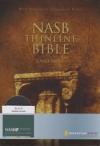 Thinline Bible - Large Print - NAS (black, bonded leather)