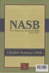 Ultrathin Reference Bible - NAS (burgundy, bonded leather)