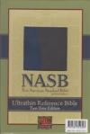 Ultrathin Reference Bible - NAS (blue/gray, Leathertex)