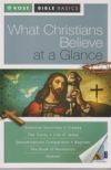 What Christians Believe at a Glance - Rose Bible Basics